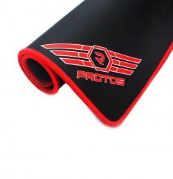 Lót chuột chuyên game Protos may viền chống bong vải 25x32x0.5cm