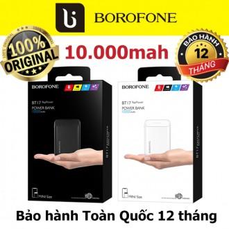 Sạc dự phòng 10.000mah chính hãng Borofone BT17