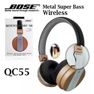 Tai nghe bluetooth BOSE QC55