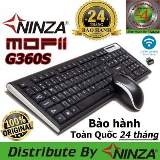 Bộ phím chuột không dây Mofii G360S cho Tivi, máy tính