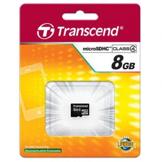 Thẻ nhớ 8gb chính hãng Transcend