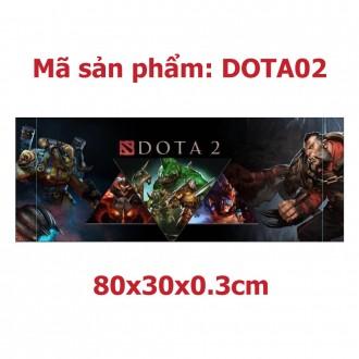 Lót chuột chuyên game 30x80x0.2cm Dota2