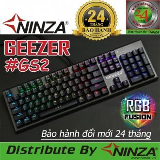 """Bàn phím cơ Geezer GS2 """"Led RGB"""""""