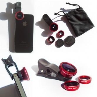 Bộ lens 3 in 1 cho Smartphone
