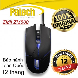 Chuột quang chuyên game Zidli ZM500