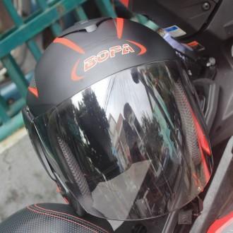 Mũ bảo hiểm 3/4 có kính Fast Bike
