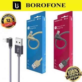 Cáp sạc iphone chính hãng Borofone BX26