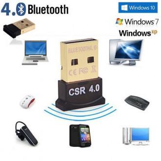 """Usb bluetooth CSR 4.0 Dongle cho """"Máy Tính"""""""