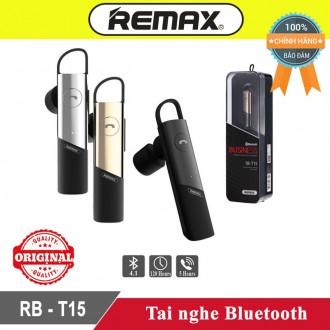Tai Nghe Bluetooth Remax T15 Sang Trọng Pin Trâu