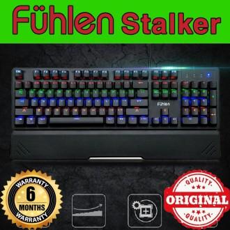 Bàn phím cơ Fuhlen Stalker nội địa - Phím cơ Fuhlen Stalker Led Rainbow