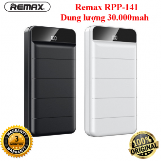 Pin sạc dự phòng Remax RPP-141 30000mAh lõi Li-Polymer