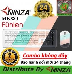 Bộ phím chuột không dây Fuhlen MK880 cho Tivi, máy tính