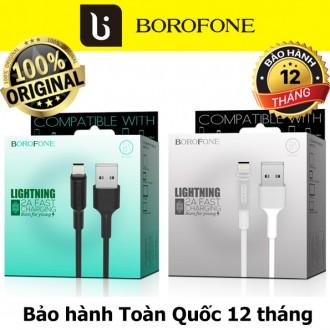 Cáp sạc iphone Borofone BX1