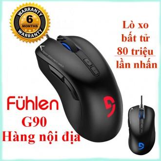 Chuột chuyên game Fuhlen G90, Lò xo Bất Tử 80 triệu lần nhấn - Hàng nội địa
