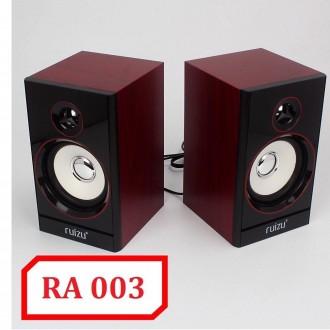 """Loa 2.0 chính hãng Ruizu RA-003 cho máy tính  """"dùng nguồn 220V"""""""