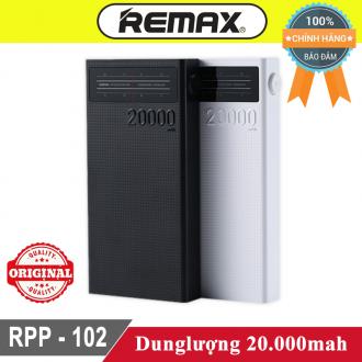 Sạc dự phòng Remax Rpp-102 20.000mah