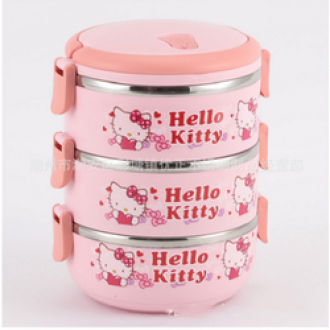 Cầm mèng 3 tầng Hello Kitty