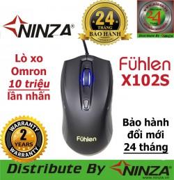 Chuột quang chuyên game Fuhlen X102S