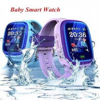 Đồng hồ định vị chống nước DF25 - Có nghe gọi - Định vị GPS - Màn hình cảm ứng