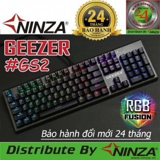 """Bàn phím cơ Geezer GS2 """"Led RGB""""."""