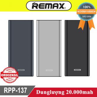Sạc dự phòng Remax Rpp-137 20.000mah