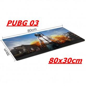 Lót chuột chuyên game 80x30cm PUBG 03