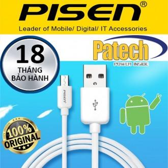 Cáp sạc Android 40cm Pisen