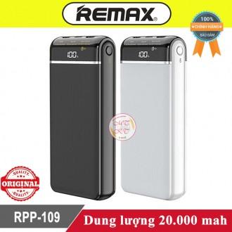 Sạc dự phòng Remax RPP-109 20.000mah - Có màn hình Led