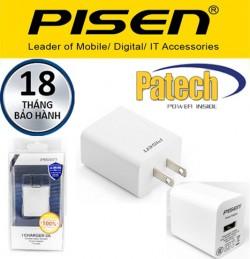 Củ sạc 2A Pisen - Bảo hành 18 tháng.