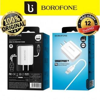 Bộ sạc iphone chính hãng Borofone BA15