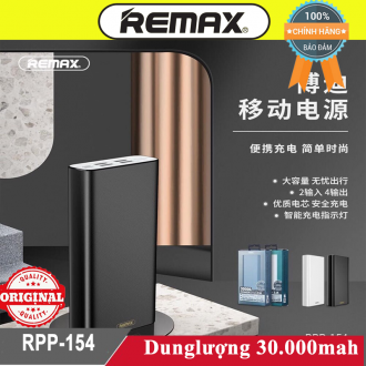 Sạc dự phòng Remax Rpp-154 30.000mah