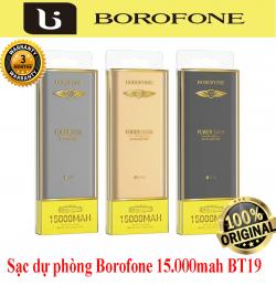 Sạc dự phòng Borofone 15.000mah BT19A