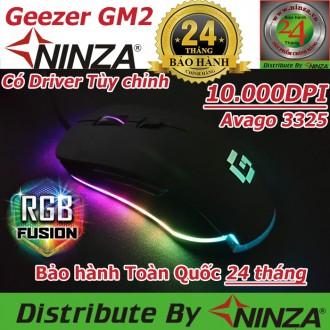 Chuột quang chuyên game Geezer GM2 10.000DPI