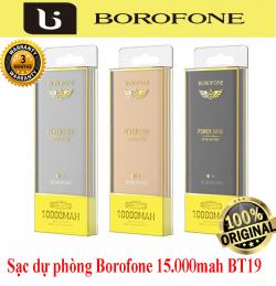 Sạc dự phòng Borofone 10.000mah BT19