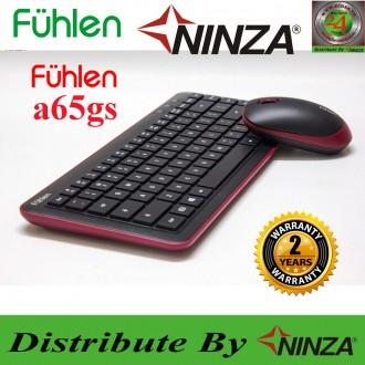 Combo phím chuột không dây Fuhlen A65GS