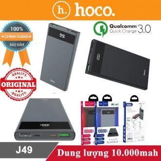 Sạc dự phòng Hoco J49 10.000mah hỗ trợ sạc nhanh 3.0
